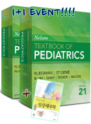 Nelson Textbook of Pediatrics, 21/e (2Vol) 1+1 이벤트