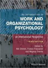 An Introduction to Work and Organizational Psychology, 3/e